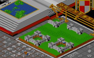 Screenshot of Populous