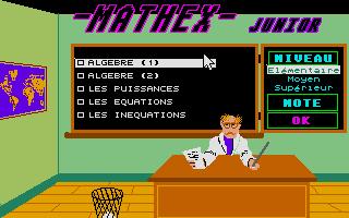 Thumbnail of other screenshot of Mathex Junior - 4e-3e