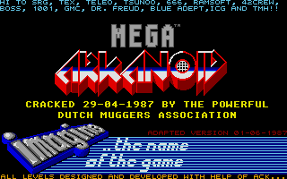 Thumbnail of other screenshot of Mega Arkanoid