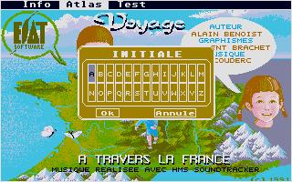 Screenshot of Voyage A Travers La France