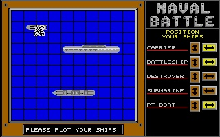 Thumbnail of other screenshot of Naval Battle