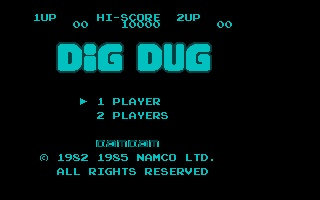 Thumbnail of other screenshot of Nesulator - Dig Dug