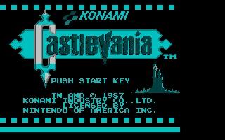 Screenshot of Nesulator - Castlevania