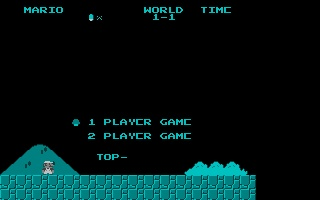 Screenshot of Nesulator - Super Mario Bros