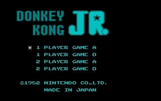Screenshot of Nesulator - Donkey Kong Jr.