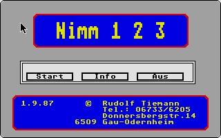 Screenshot of Nim 123