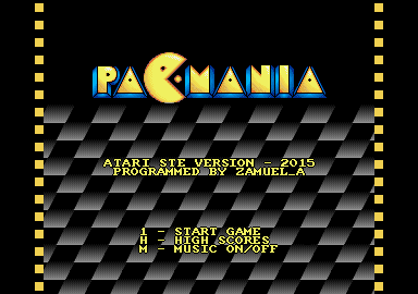 Thumbnail of other screenshot of Pacmania - STe