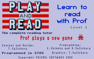 Thumbnail of other screenshot of Play and Read - Learn to read with prof