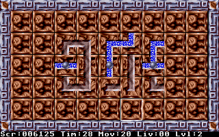 Screenshot of puzzled
