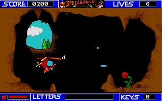 Screenshot of Spellbound!