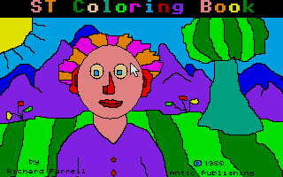 Thumbnail of other screenshot of ST Coloring Book