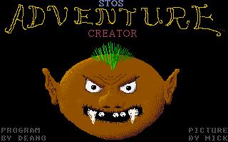 Screenshot of Stos Adventure Creator