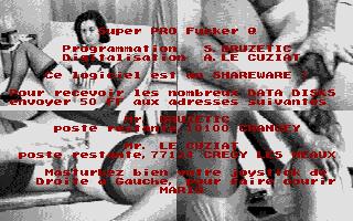 Thumbnail of other screenshot of Super Pro Fucker Q