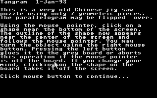 Thumbnail of other screenshot of Tangram