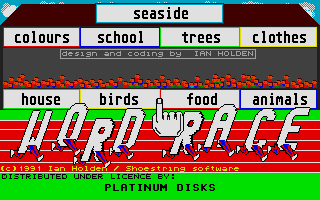 Thumbnail of other screenshot of Word Race