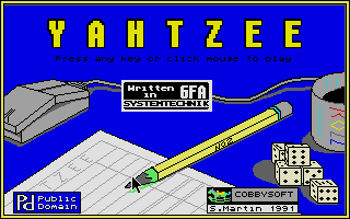 Thumbnail of other screenshot of Yahtzee