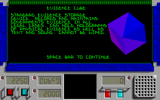 Screenshot of System Justice