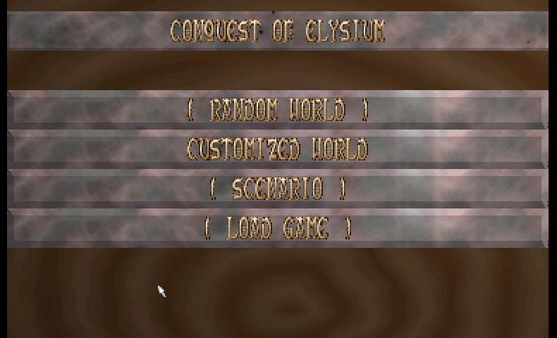 Screenshot of Conquest Of Elysium
