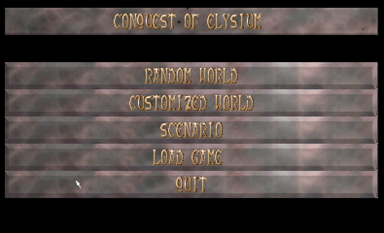 Thumbnail of other screenshot of Conquest Of Elysium 2