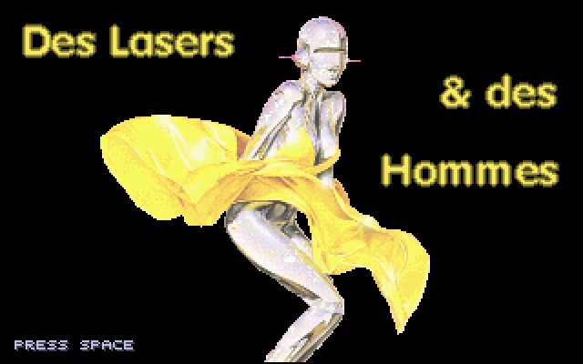 Thumbnail of other screenshot of Lasers Et Des Hommes, Des