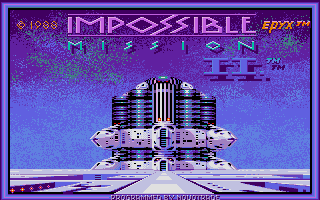 Screenshot of Impossible Mission 2
