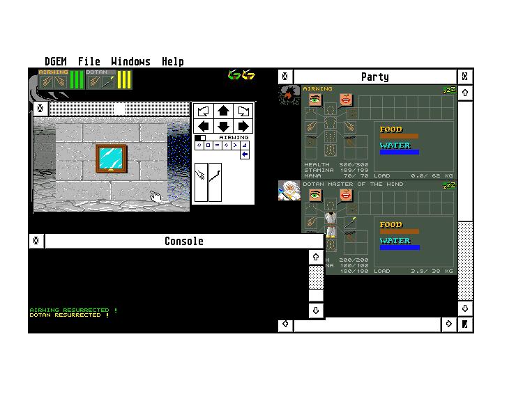Screenshot of Dgem