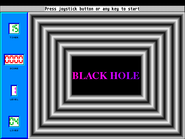 Screenshot of Black Hole