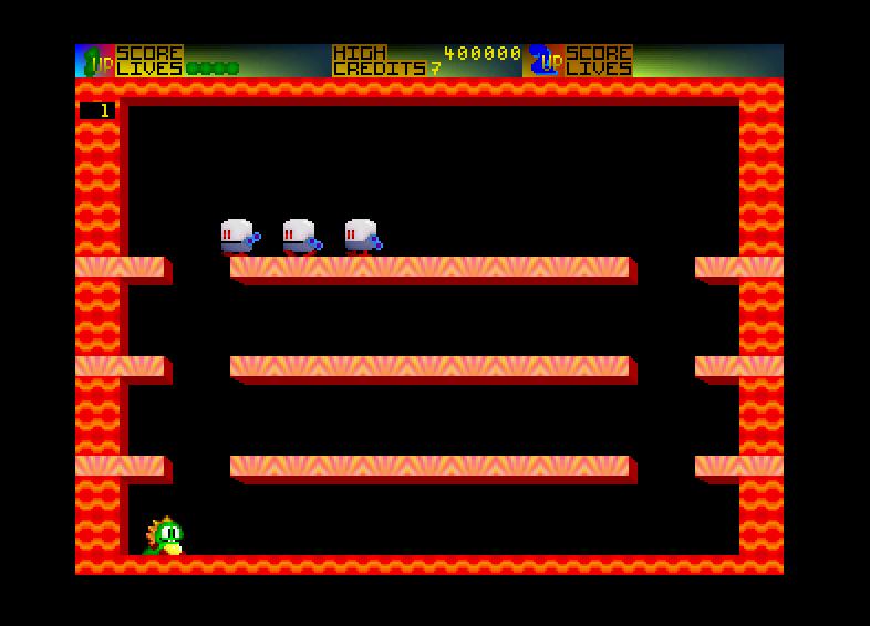 Screenshot of Bubble Bobble 2000
