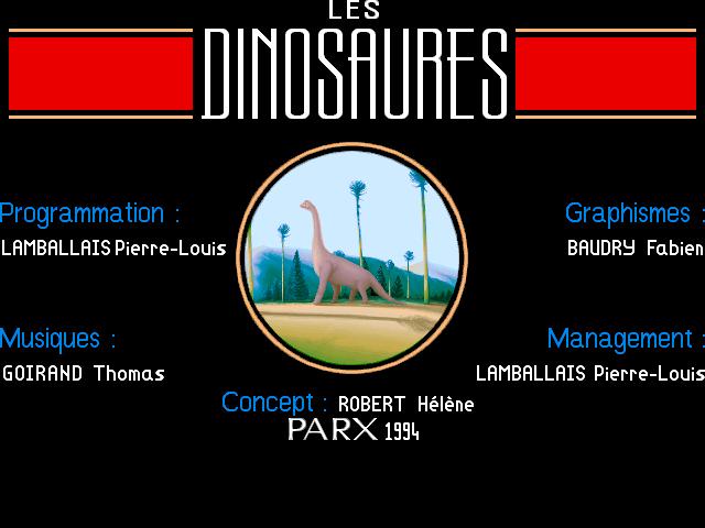 Screenshot of Dinosaures, Les