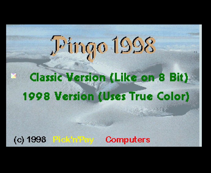 Thumbnail of other screenshot of Pingo 1998