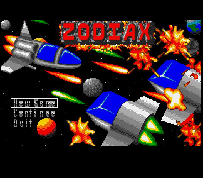 Screenshot of Zodiax