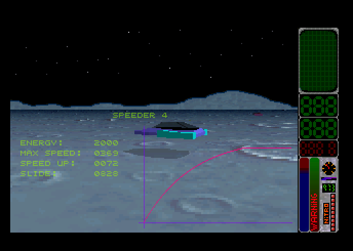 Screenshot of Moon Speeder