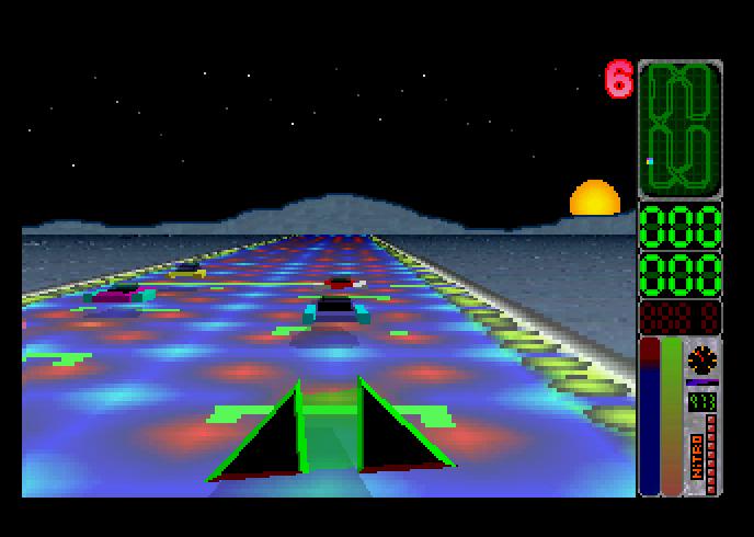 Screenshot of Moon Speeder