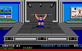 Screenshot of World Games