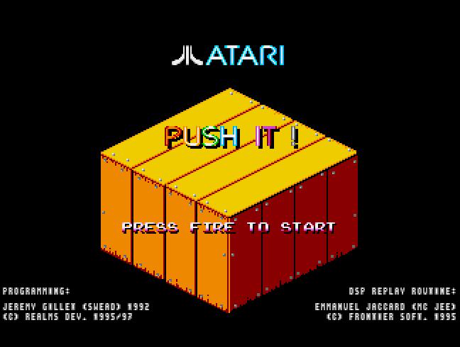 Screenshot of Push It
