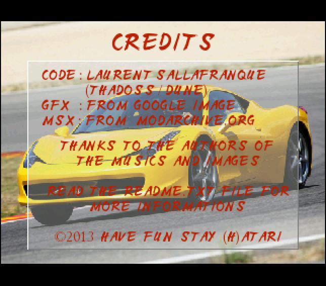 Screenshot of Racer