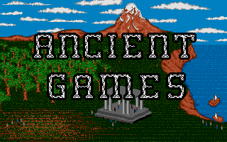 Screenshot of Ancient Games