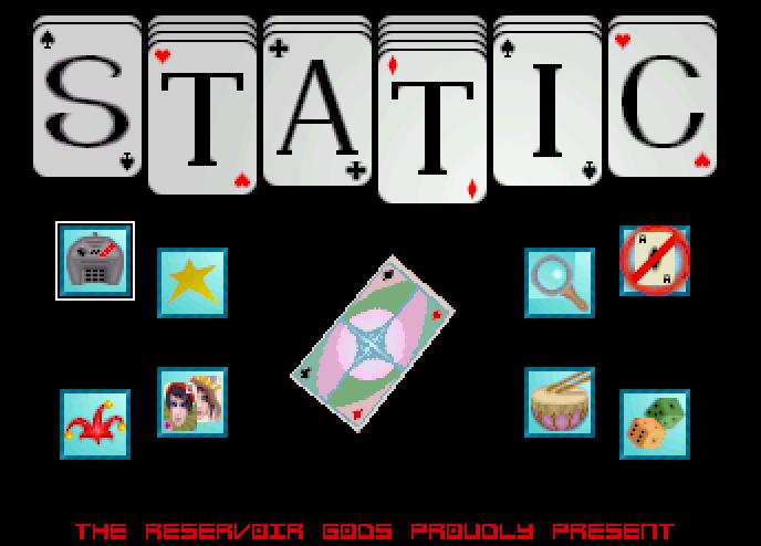 Screenshot of Static