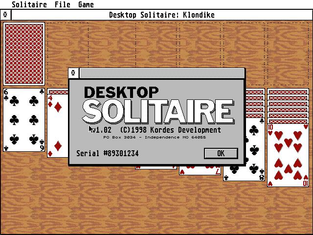 Thumbnail of other screenshot of Desktop Solitaire