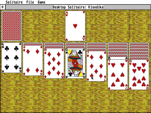 Screenshot of Desktop Solitaire