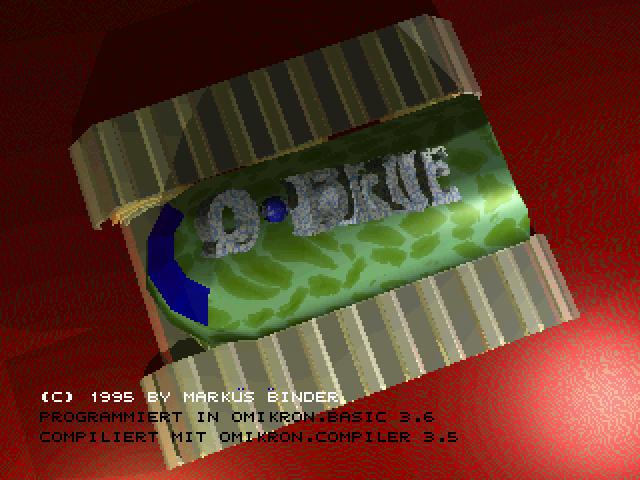 Screenshot of Q Blue