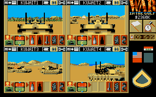 Screenshot of War in the Gulf