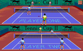 Thumbnail of other screenshot of Tennis Cup II