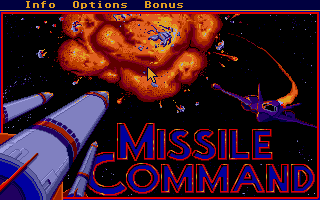 Thumbnail of other screenshot of Missile Command 2