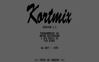 Screenshot of Kortmix