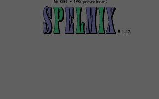 Screenshot of Spelmix