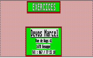 Screenshot of Exercises