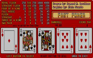 Screenshot of Fast Poker