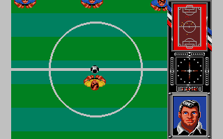 Screenshot of Fighting Soccer - Early version