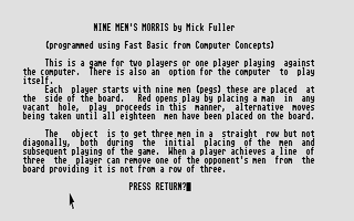 Thumbnail of other screenshot of Nine Men's Morris
